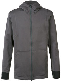 soft zipped hoodie Y-3