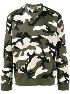 Rockstud camouflage sweatshirt Valentino