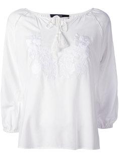 floral embroidery blouse Steffen Schraut