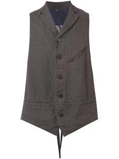 buttoned waistcoat Ziggy Chen