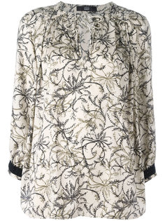 floral print blouse Steffen Schraut