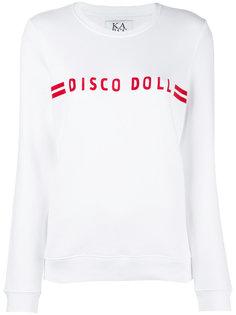 slogan front sweater Zoe Karssen