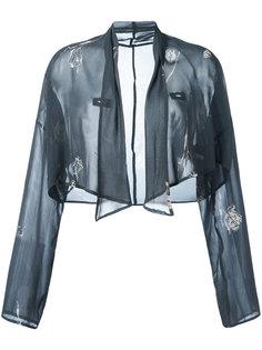 floral print cropped jacket Dolce & Gabbana Vintage