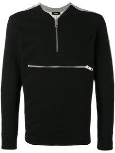zip detail sweatshirt Diesel