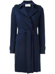 belted coat Harris Wharf London