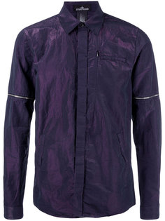iridescent shirt Stone Island Shadow Project