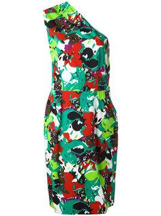 one-shoulder dress Guy Laroche Vintage