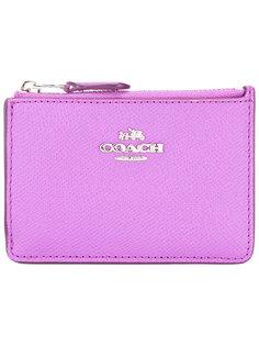 top zip purse Coach