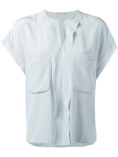 расклешенная блузка Hemisphere