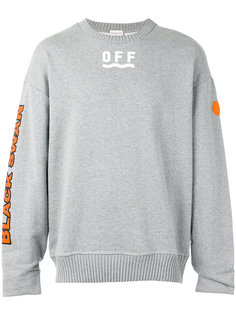 printed motif jumper Moncler X Off-White