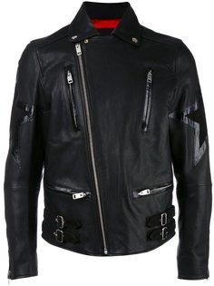 байкерская куртка с принтом звезды  Diesel