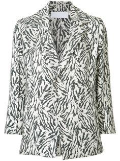 zebra print jacket Victor Alfaro