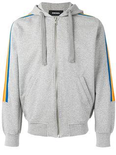 rainbow panel hoodie Diesel
