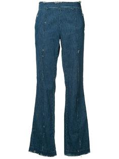 destroyed effect jeans Victor Alfaro