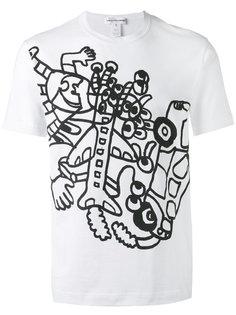 printed T-shirt Comme Des Garçons Shirt
