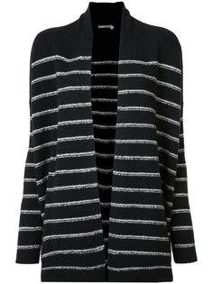 striped cardi-coat  Vince