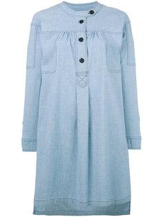 button-top denim shirt dress Isabel Marant Étoile