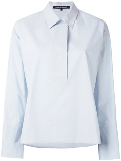 open v-neck shirt Luisa Cerano