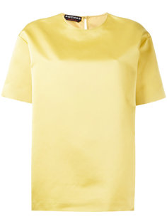 блузка с короткими рукавами Rochas