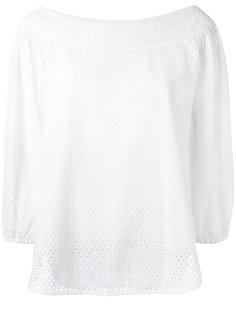 блузка с перфорацией Hemisphere