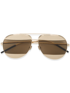 Aviator Sunglasses with Two-Tone Lenses Dior Eyewear