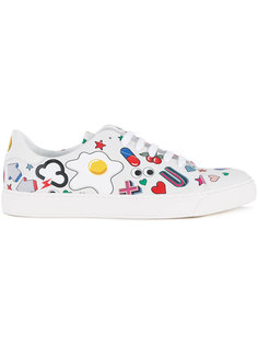 all over stickers trainers  Anya Hindmarch