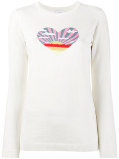 Sunset Heart intarsia jumper Bella Freud