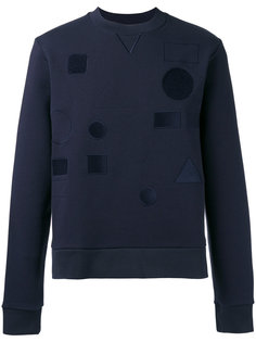 Tonal badge sweatshirt  Joseph