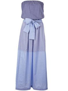платье без бретелей Erika Cavallini