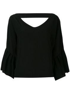 блузка с открытой спиной Erika Cavallini