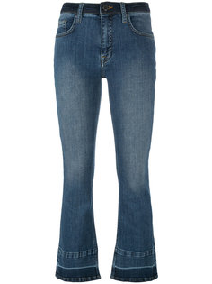 cropped flare jeans Victoria Victoria Beckham