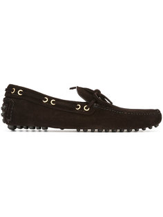 lace-up loafers Car Shoe