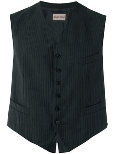 pinstriped waistcoat Romeo Gigli Vintage