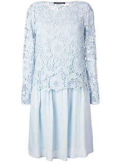 lace pleated dress Luisa Cerano