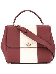 сумка на плечо с контрастной полосой Bally