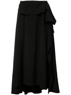 pleated flare skirt Ys Y`s