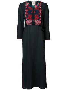 платье-кафтан с вышивкой Figue