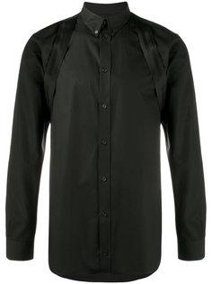 рубашка с ремешками на плечах Givenchy