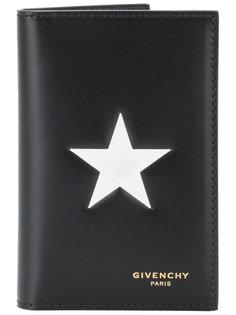 визитница с контрастной звездой Givenchy