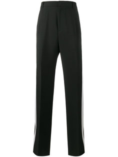 широкие брюки с полосками по бокам Givenchy