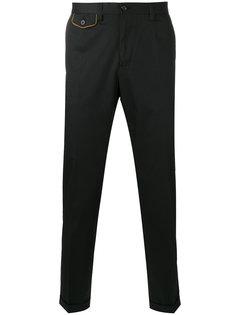 брюки-чинос с контрастными карманами Dolce & Gabbana