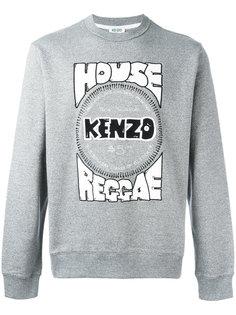 толстовка House Reggae с принтом Kenzo