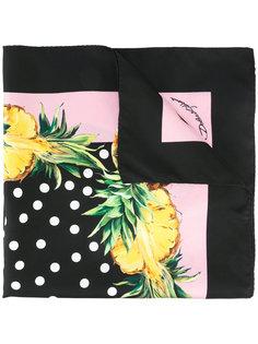 платок с принтом ананасов Dolce & Gabbana