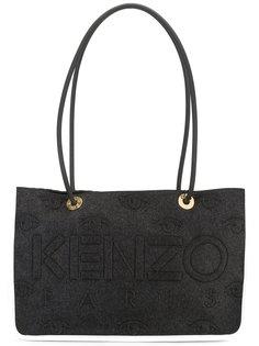 сумка-тоут с тиснением логотипа Kenzo