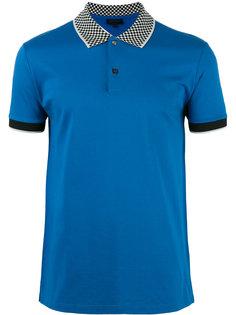 рубашка-поло с воротником в клетку Lanvin