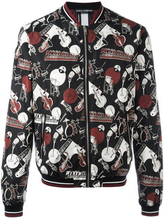 куртка бомбер с принтом Dolce & Gabbana