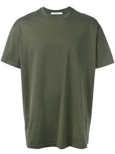 футболка с логотипом на спине Givenchy