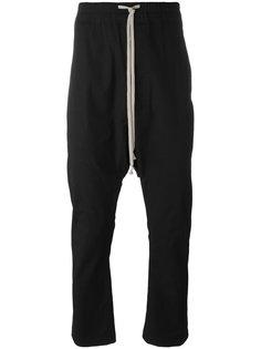 брюки с заниженной шаговой линией Rick Owens