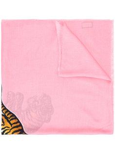 платок с принтом тигра Gucci