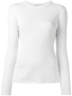 футболка с длинными рукавами в рубчик Givenchy